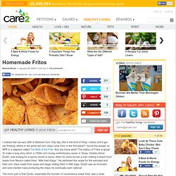 Healthy Homemade Fritos