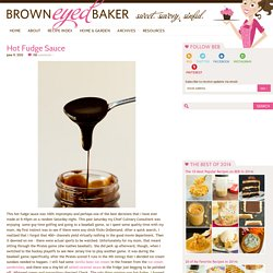 Homemade Hot Fudge Sauce Recipe