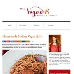 Homemade Italian Vegan Balls