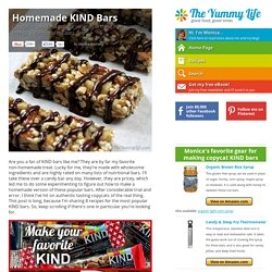 Homemade KIND Bars