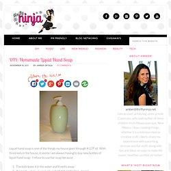 DIY: Homemade Liquid Hand Soap