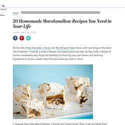 20 Homemade Marshmallow Recipes You Need in Your Life