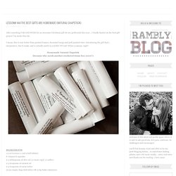 the LIFE LESSONS blog {things crafty, thrifty, family, yummy & rambly): Lesson# 144 The Best Gifts are Homemade {Natural Chapstick}