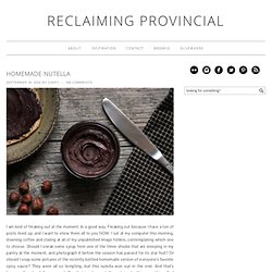 Reclaiming Provincial