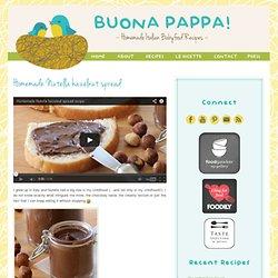 homemade Nutella hazelnut spread