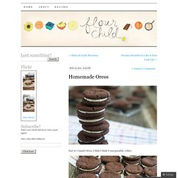 Homemade Oreos | Flour Child