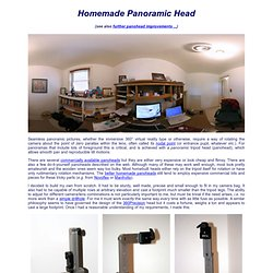 Homemade Panoramic Head