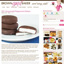 DIY: Homemade York Peppermint Patties Recipe