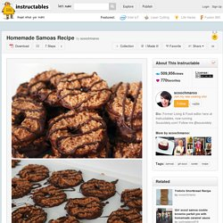 Homemade Samoas Recipe