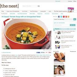Homemade Spicy Tomato Soup Recipe