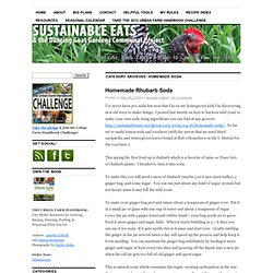 Sustainable Eats & the Dancing Goat Gardens Communal Project