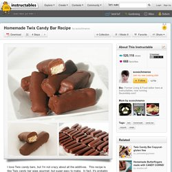 Homemade Twix Candy Bar Recipe