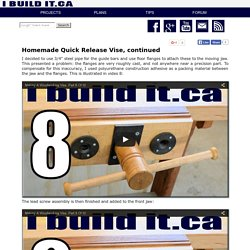 Homemade Woodworking Vise, Page 3