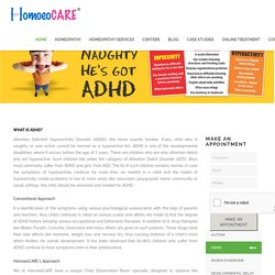 Best Homeopathic Treatment for ADHD l Doctor in Mumbai