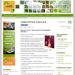 HOMEOPATHIE FAMILIALE » La maison de l'écologie