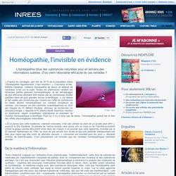 Homéopathie, l'invisible en évidence