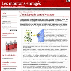 L'homéopathie contre le cancer