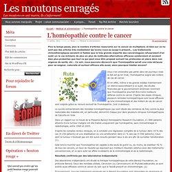 L'homéopathie contre le cancer