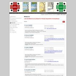 Biosophie - Homeopathie - Therapie sequentielle - Jean Elmiger - Lausanne - Suisse - Médecins