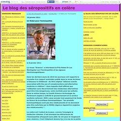 Un Nobel pour l'homéopathie - Le blog des séropositifs en colère