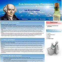Traitement homéopathique des bronchiolites