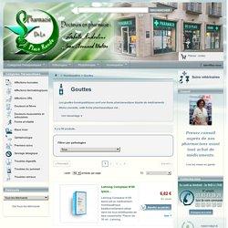 Gouttes homéopathiques - Pharmacie en ligne - Pharmacie de la Place Ronde