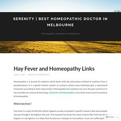 Best homeopathic doctor in Melbourne