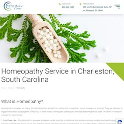 Homeopathy Service in Charleston, SC