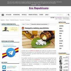 Homeopatía y medicina, cosas distintas. - Eco Republicano