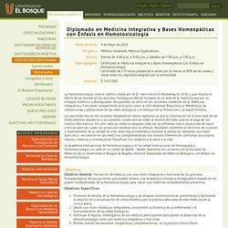Diplomado en Medicina Biológica con Énfasis en Homotoxicología