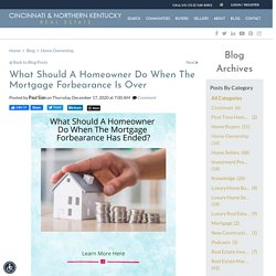 What Should A Homeowner Do When Their Mortgage Forbearance Stops