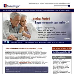 Homeowner Association Website