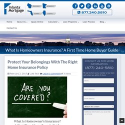 A First Time Home Buyer Guide To Homeowners Insurance