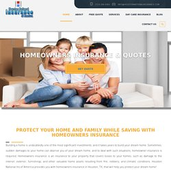 To Purchase Home Insurance at Reasonable Prices and to get Quotes for your home insurance in Houston, Sugarland, TX