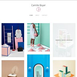 Homepage – Camille Boyer