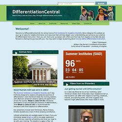 Differentiation Central