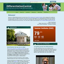 Tomlinson - Differentiation Central
