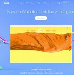 Homepage für Designer erstellen