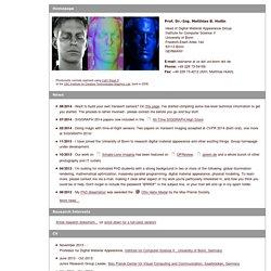 Homepage: Matthias B. Hullin