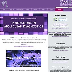 SWHR Homepage - Society for Women's Health Research