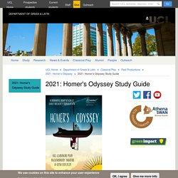 2021: Homer's Odyssey Study Guide