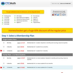 Homeschool - ctcmath.com