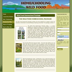 Wild Food Homeschool Package