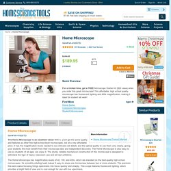Homeschool Microscope - User-Friendly