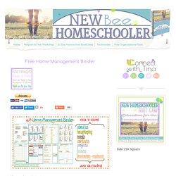 NEW BEGINNINGS - Home Management Binder