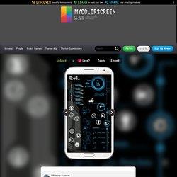 Tech-A Rainmeter 3-screen work/play UI Android Homescreen by Yams