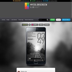 blackiiiz Android Homescreen by mkmathers