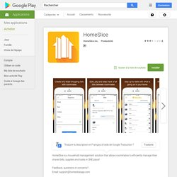 HomeSlice – Applications Android sur Google Play