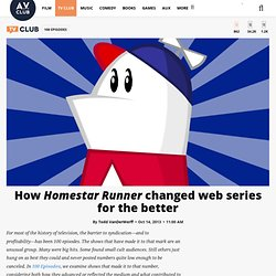 How Homestar Runner changed web series for the better
