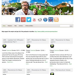 permaculture blogs, podcasts and videos by paul wheaton